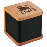 Mahogany Engraved Bluetooth Speaker