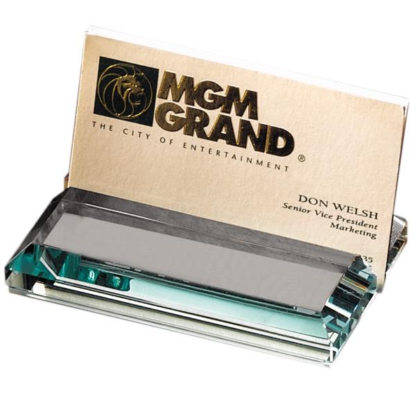 Cut glass business card holder 774lg9023 colourmoves